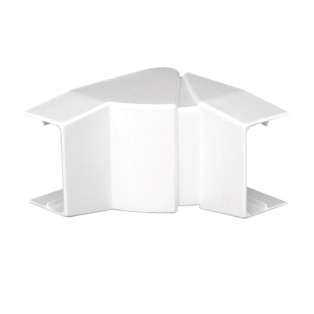 Ángulo interior variable para canal 40X12,5 blanco