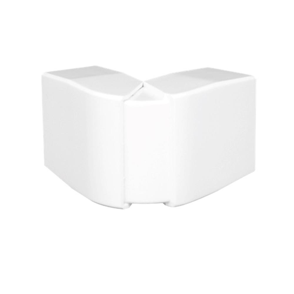 Ángulo exterior variable para canal 40X12,5 blanco