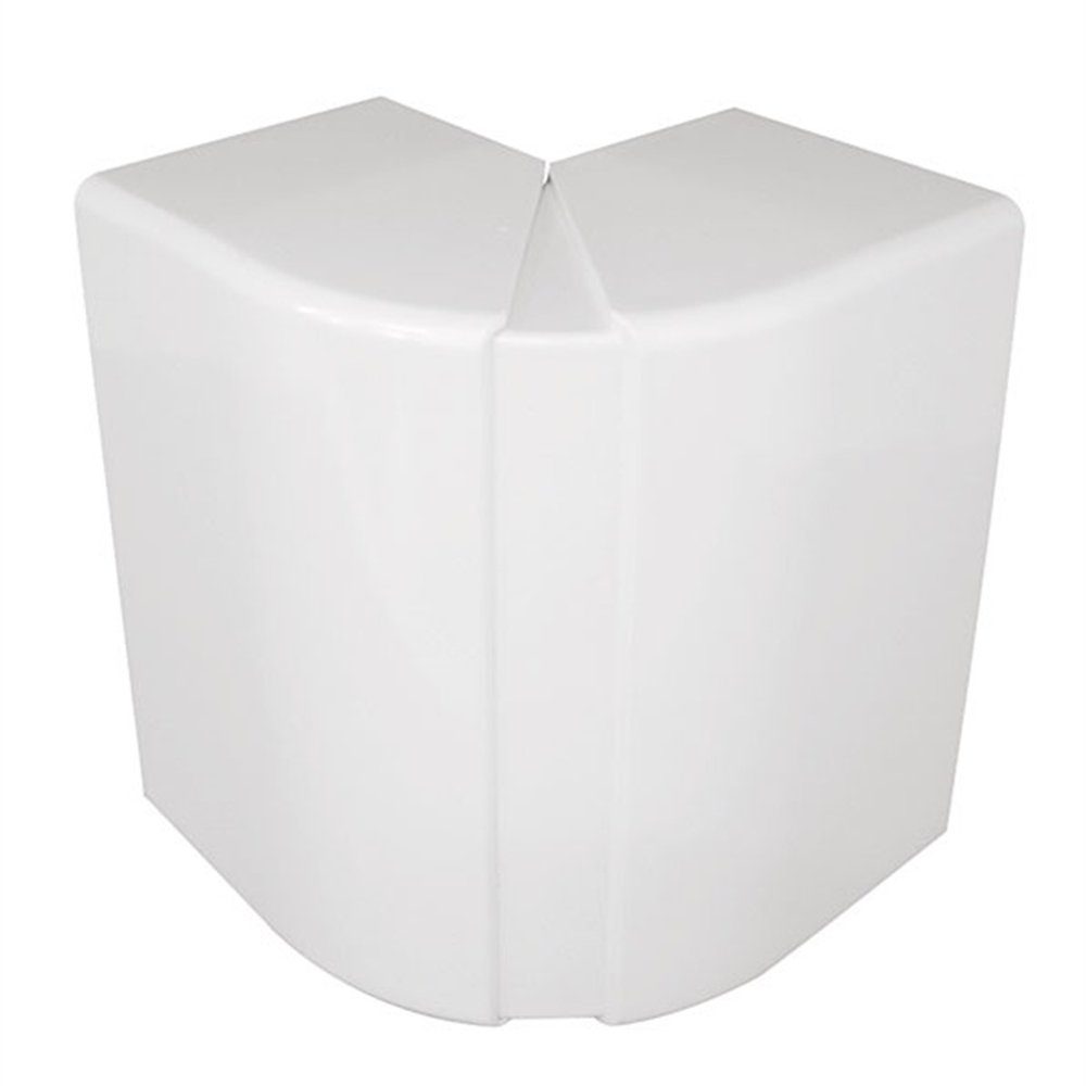 Angulo exterior variable Canal 110X34 blanco