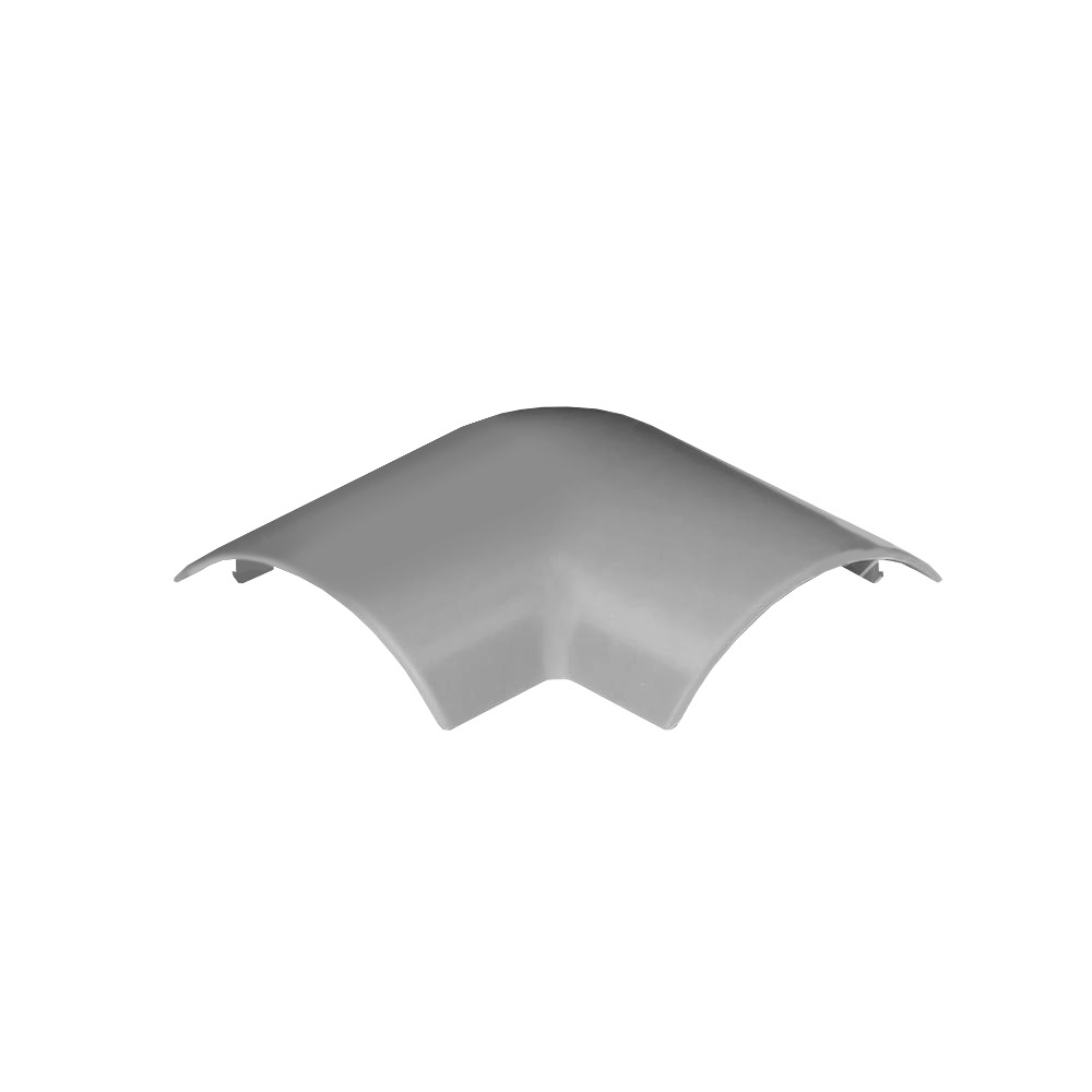 Angulo Plano Canal suelo 50x12 gris