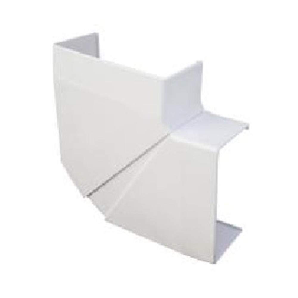 Angulo plano variable canal 90x50 blanco