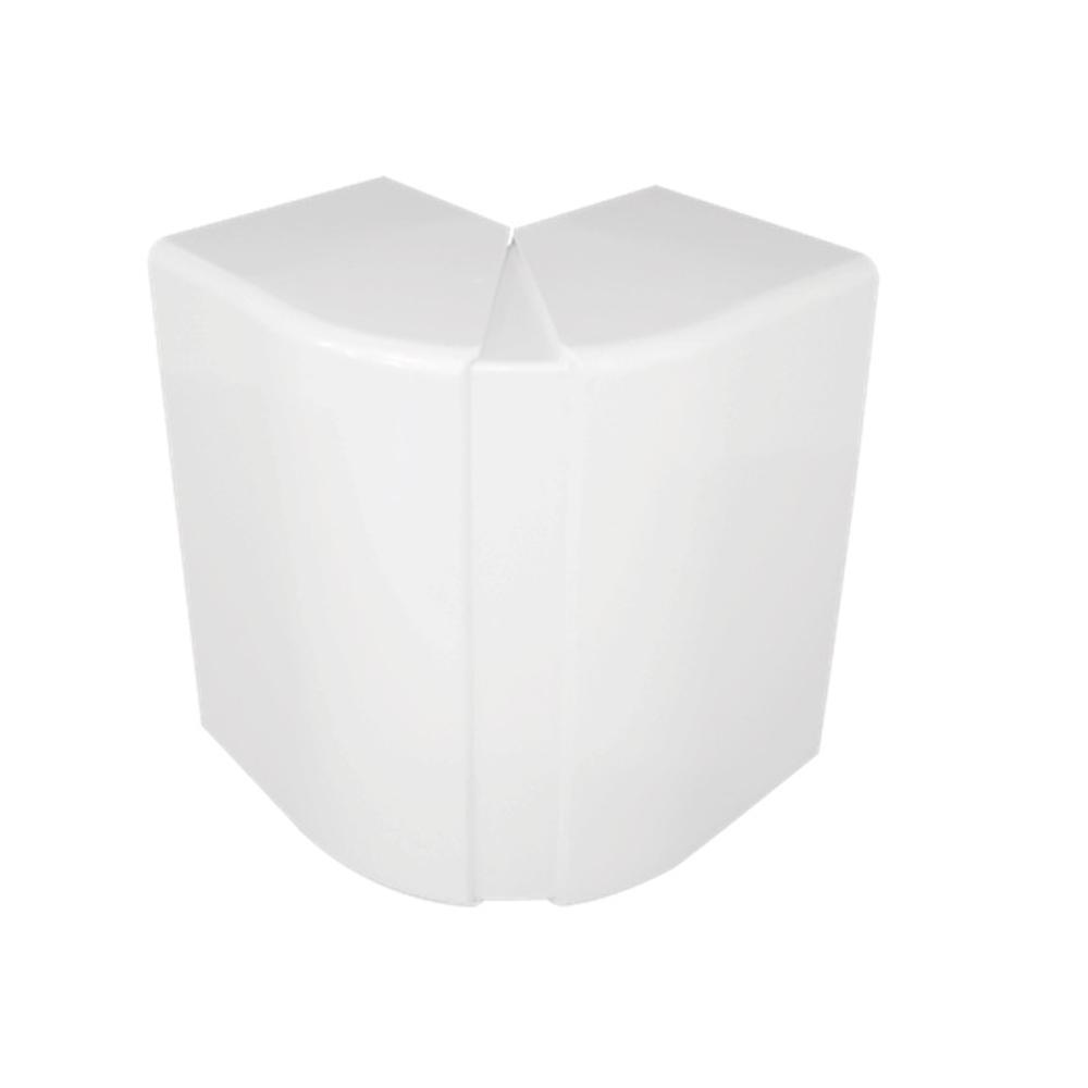 Angulo exterior variable para Canal 180X50 blanco