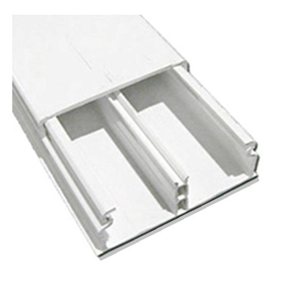 Canal 40x12,5 cinta autoadhesiva blanco