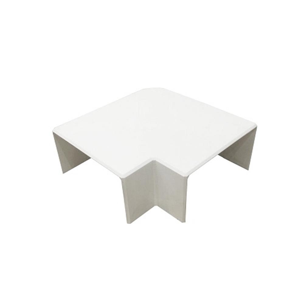 Angle pla canal 80x40 blanc