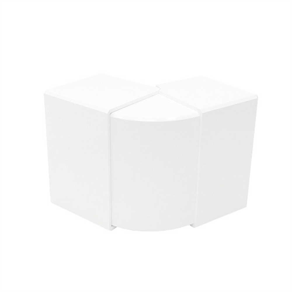 Angle exterior variable canal 80x40 blanc - Item1