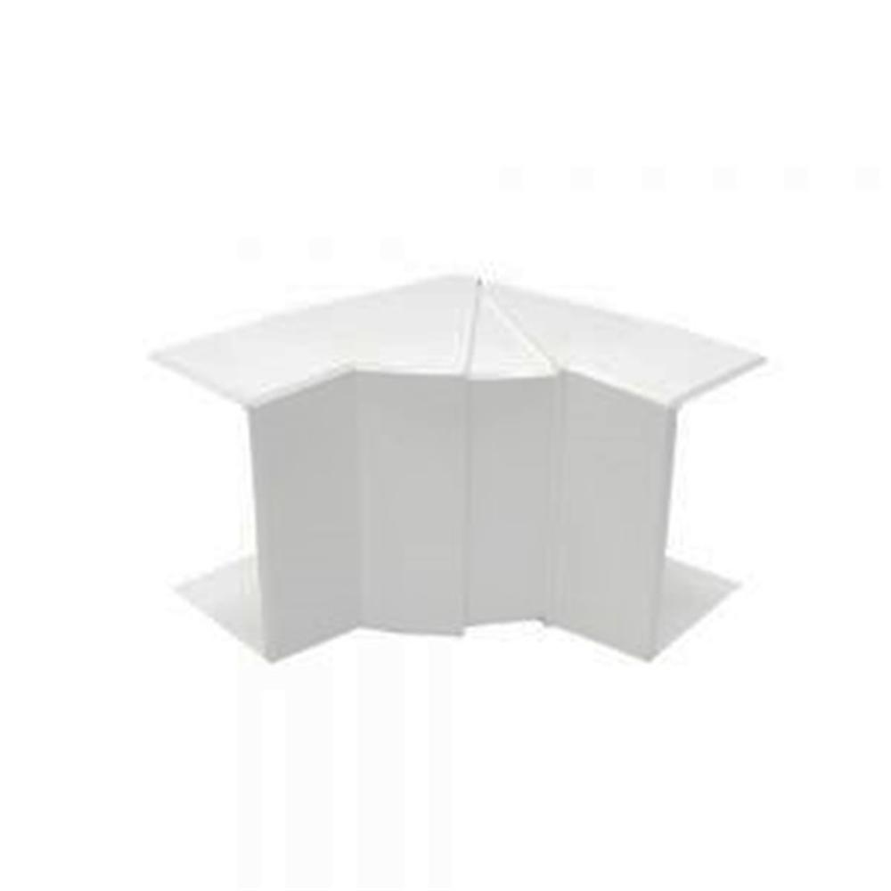 Ángulo interior blanco para Canal 100X40