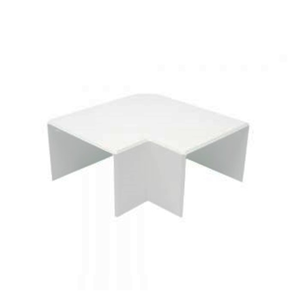 Angle pla blanc per a Canal 100X40 - Item1