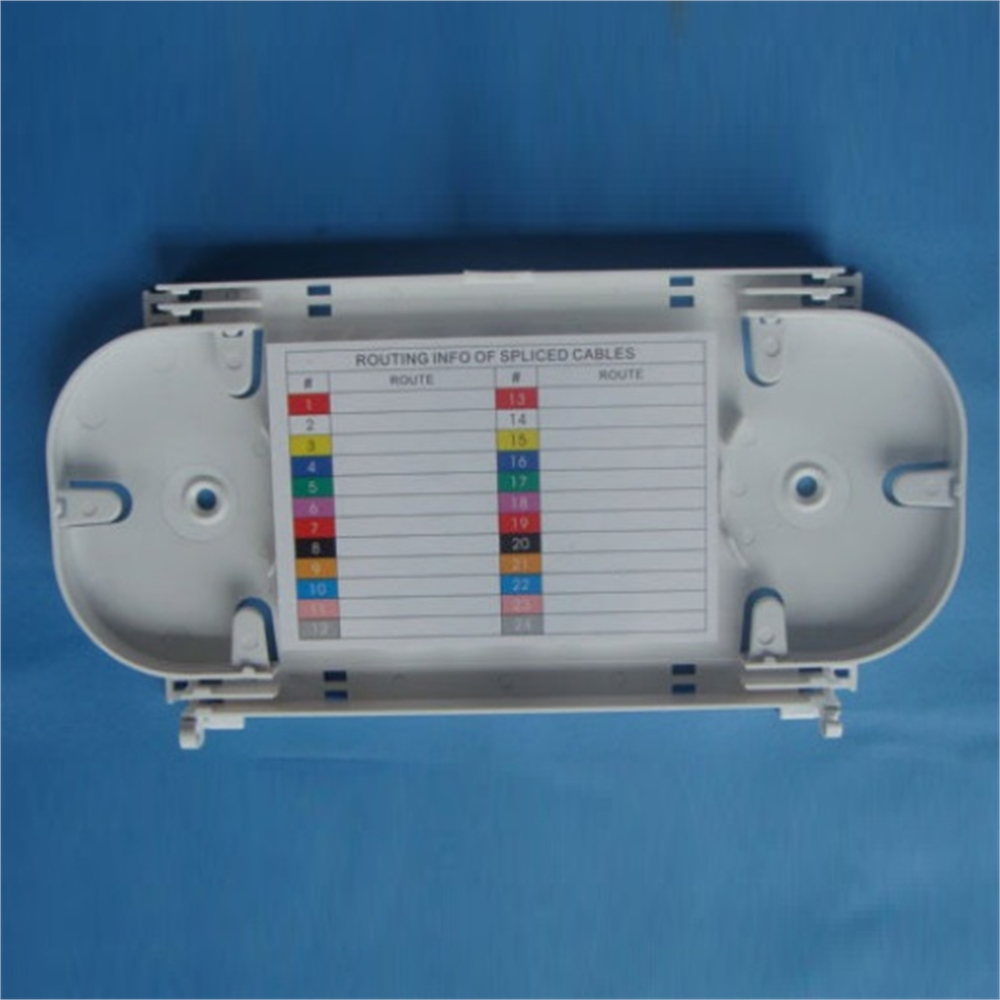 Cassette 24 fusions fibra òptica Oval
