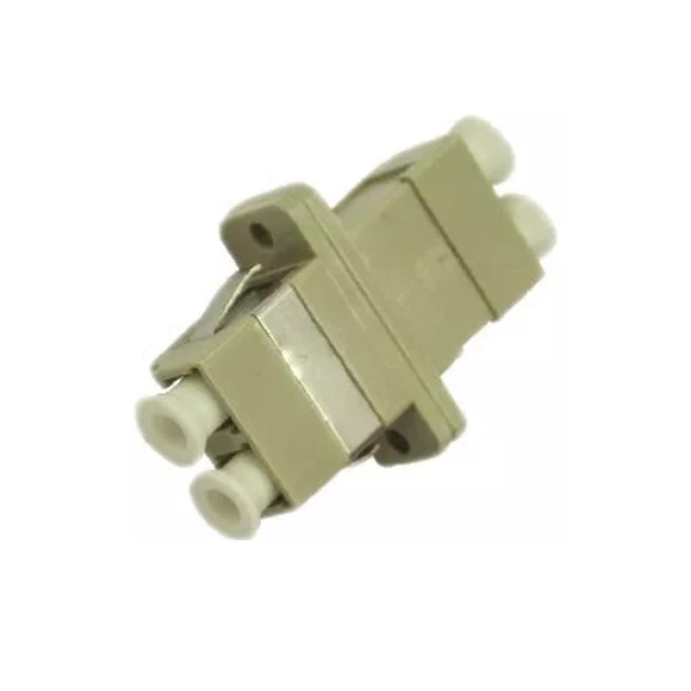 Adaptador fibra óptica LC Duplex H-H