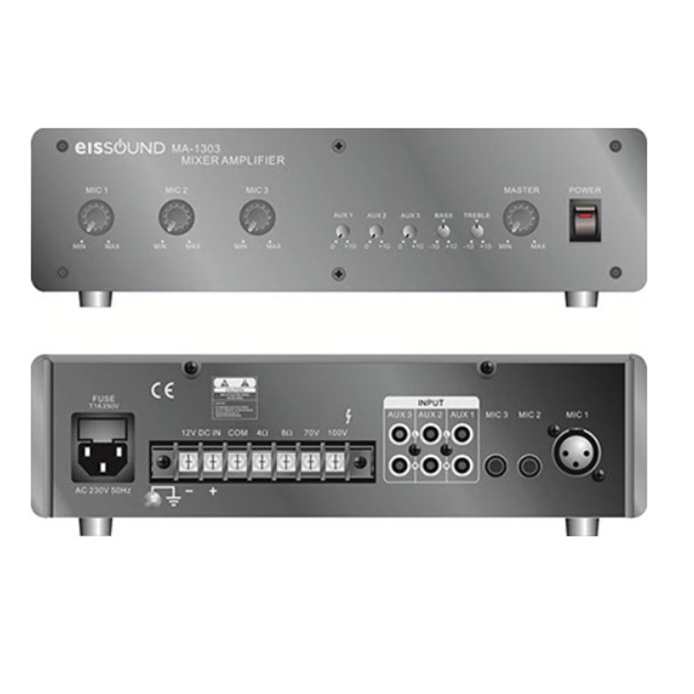 Amplificador mezclador 30W MA-1303