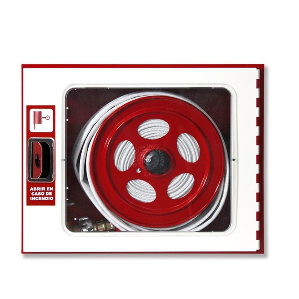 BIE-45 20m Porta beige amb visor. Calaix vermell. 630X500X130
