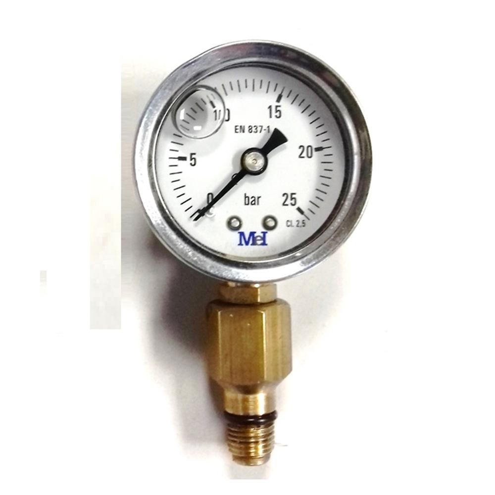 Manòmetre de comprovació d'extintors amb rosca exterior