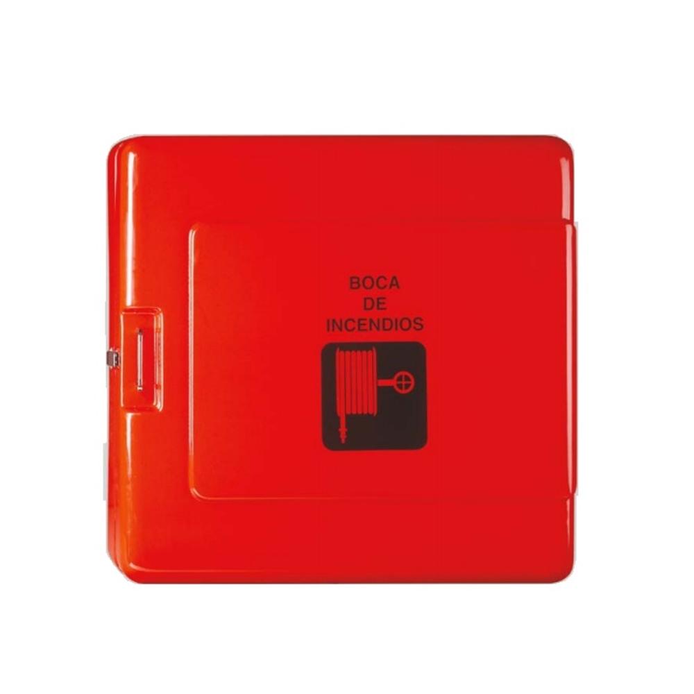 BIE-45 fibra de vidre 570x570x205mm d'intempèrie, vermella, 20m