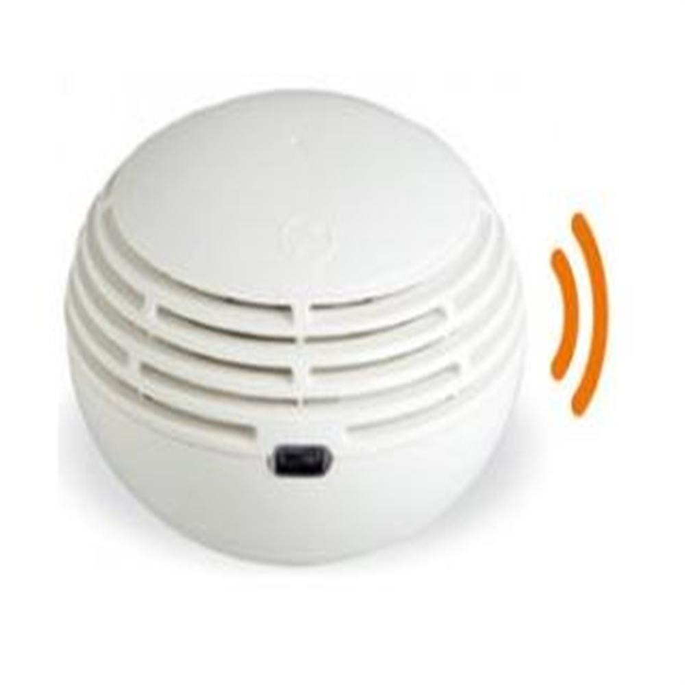 Detector óptico de humos autónomo via ràdio