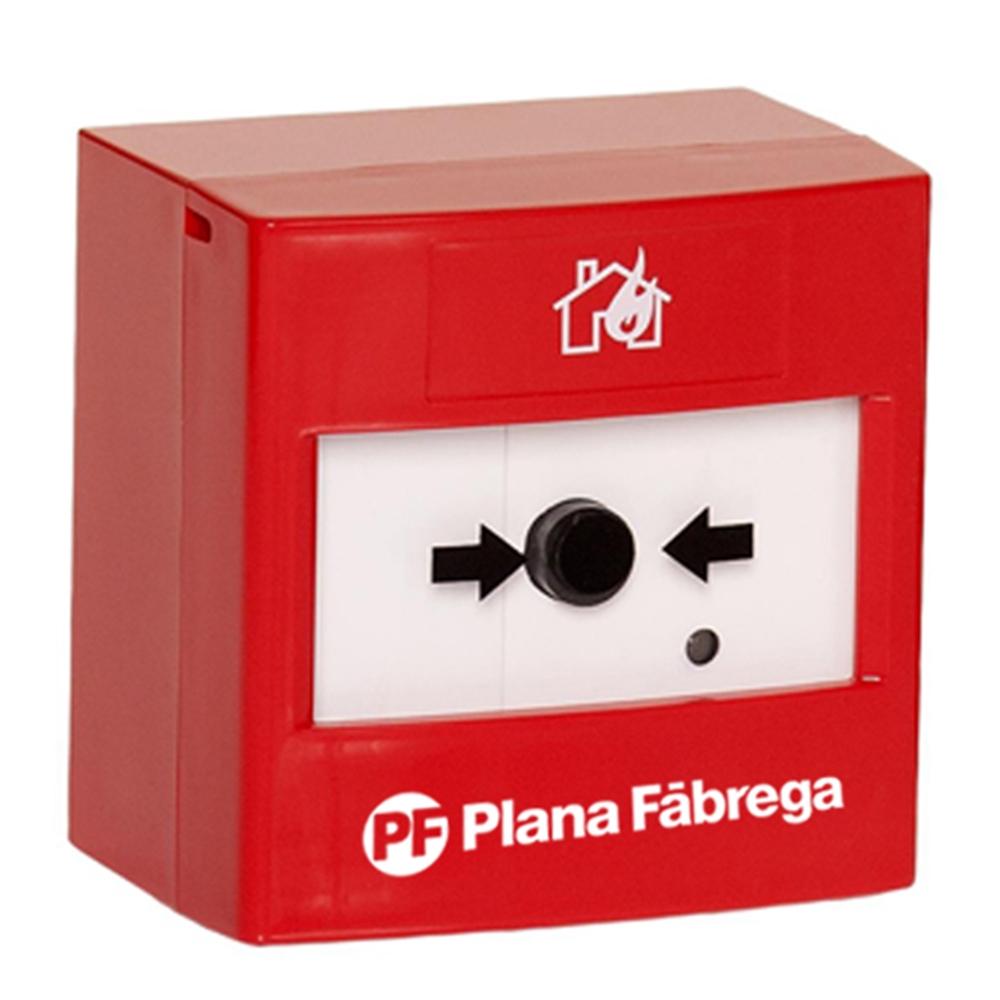 Polsador manual d'alarma convencional via ràdio