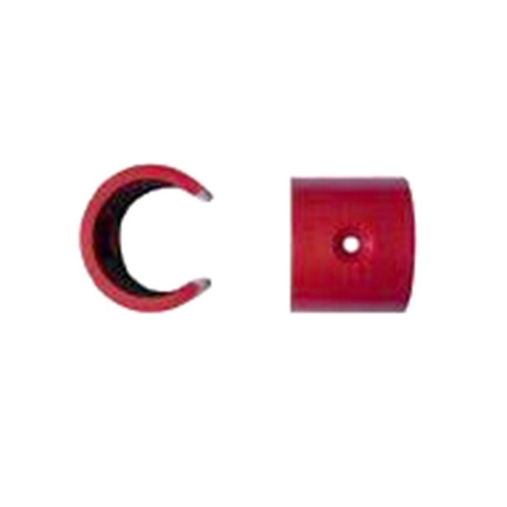 Clip per orifici de mostreig en el tub d'aspiració de 2.5 mm (10 u)