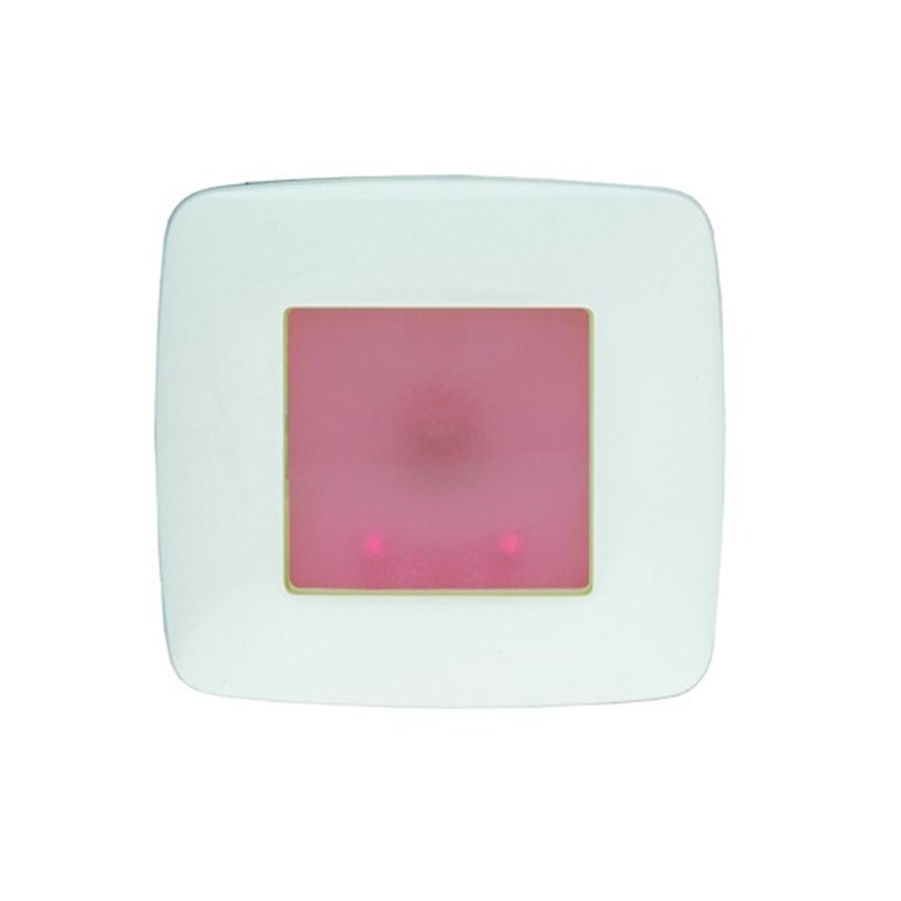 Balisa BS-2 no permanent quadrada blanca / senyal vermell