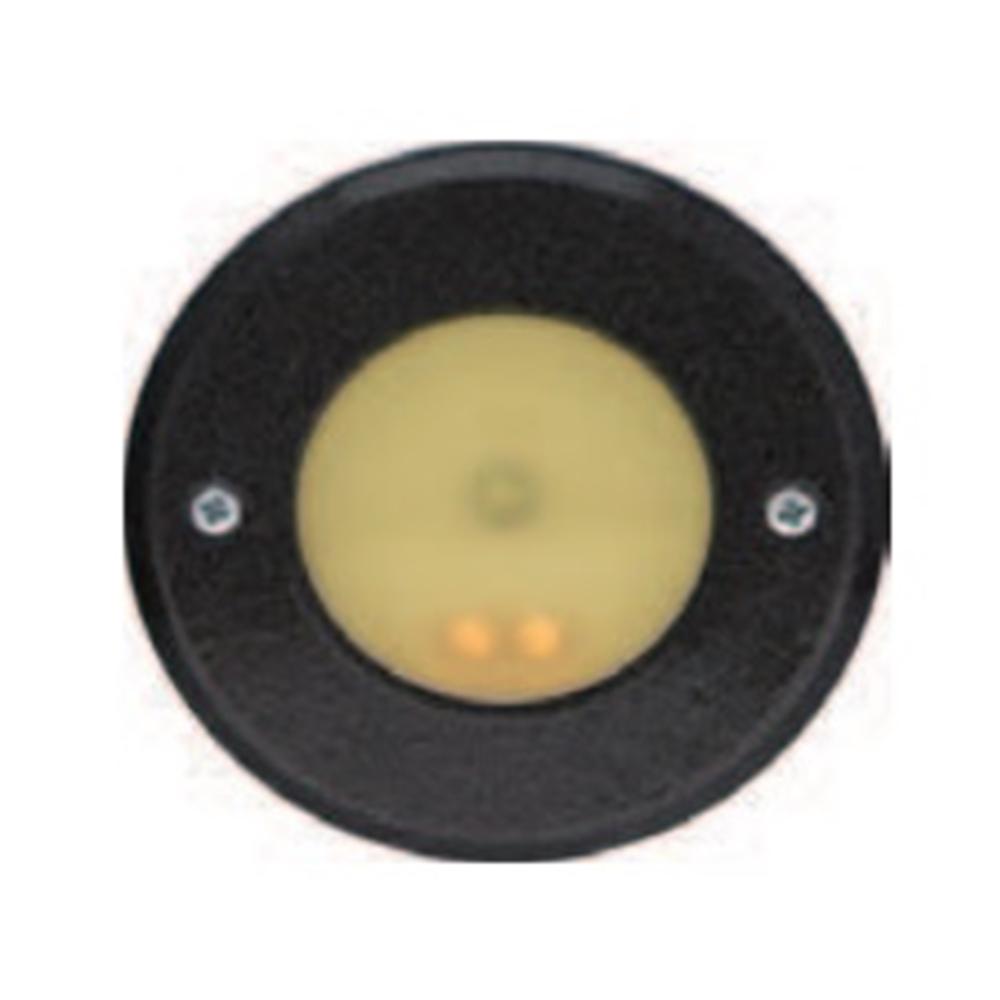 Baliza BS-1 LED No permanente Redonda marco negro