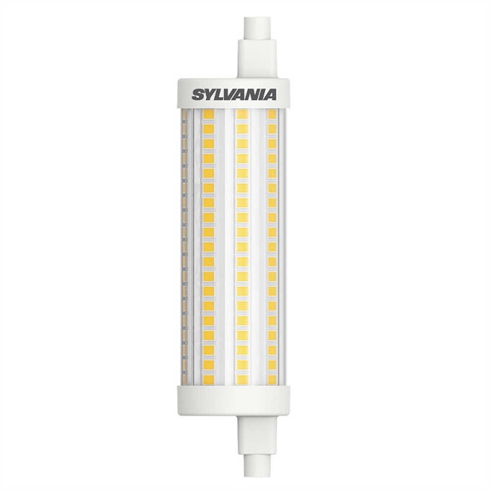 Lineal LED Toledo R7S 118mm 15W regulable 2700K 2000 lm