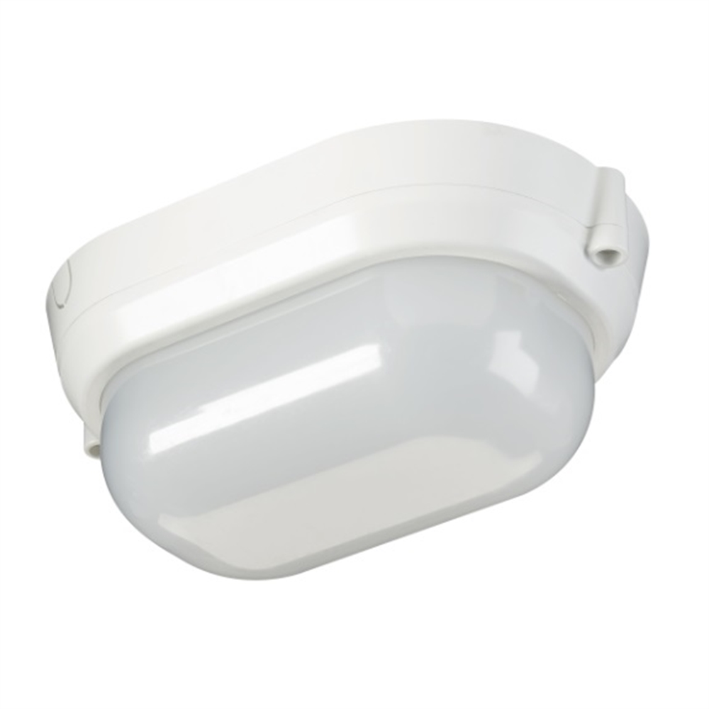 Luminaria LED exterior superficie Start Bulkhead 12W Ovalada 122x133mm 4000K 1100 lm