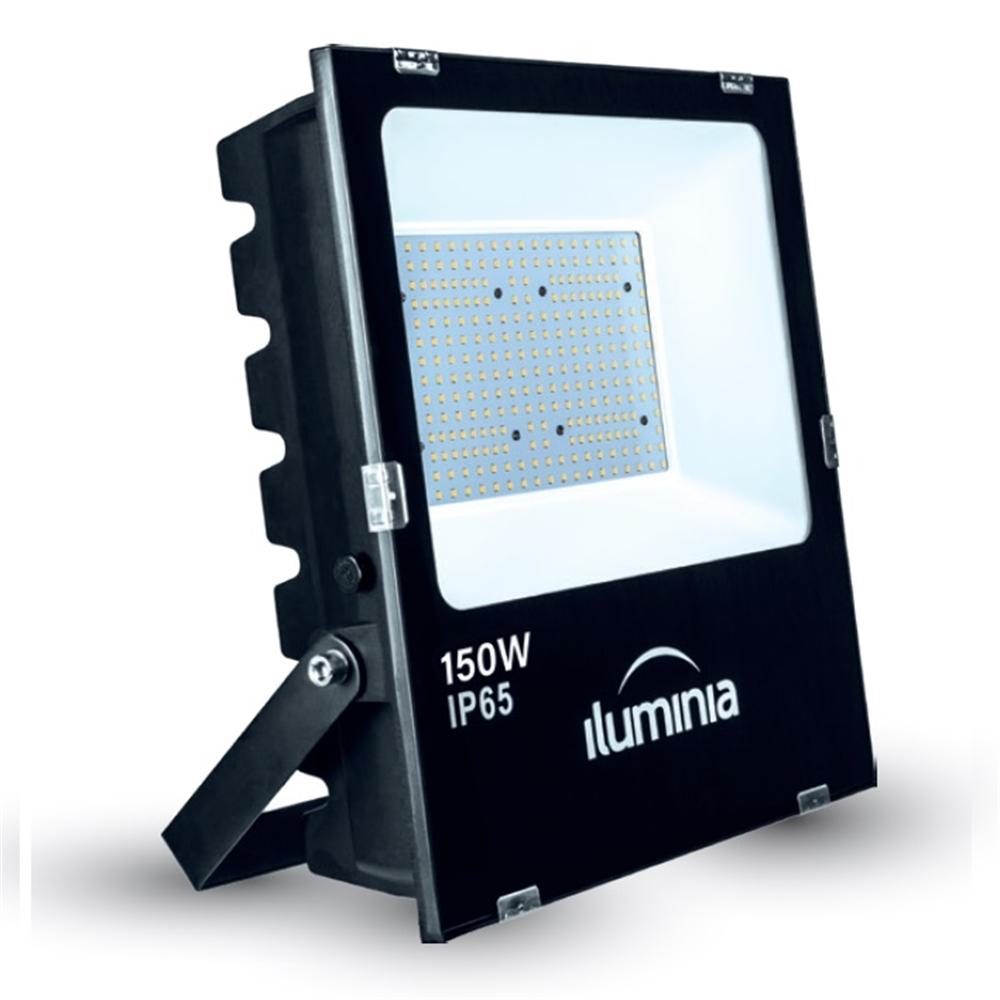 Projector LED Tango negre IP65 amb protector sobretensions 2kV. 150W 100-240Vac 5700K 120º 17260lm