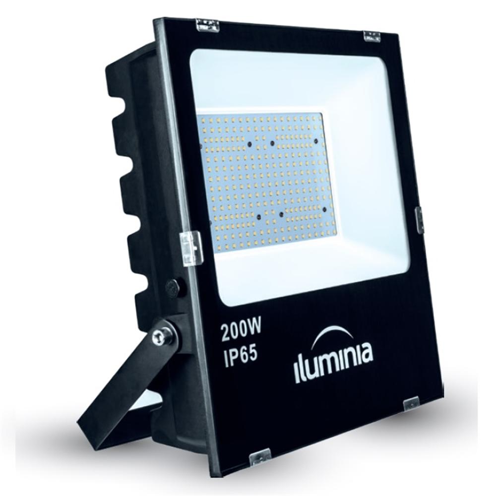 Projector LED Tango negre IP65 amb protector sobretensions 2kV. 200W 100-240Vac 4000K 120º 23040lm