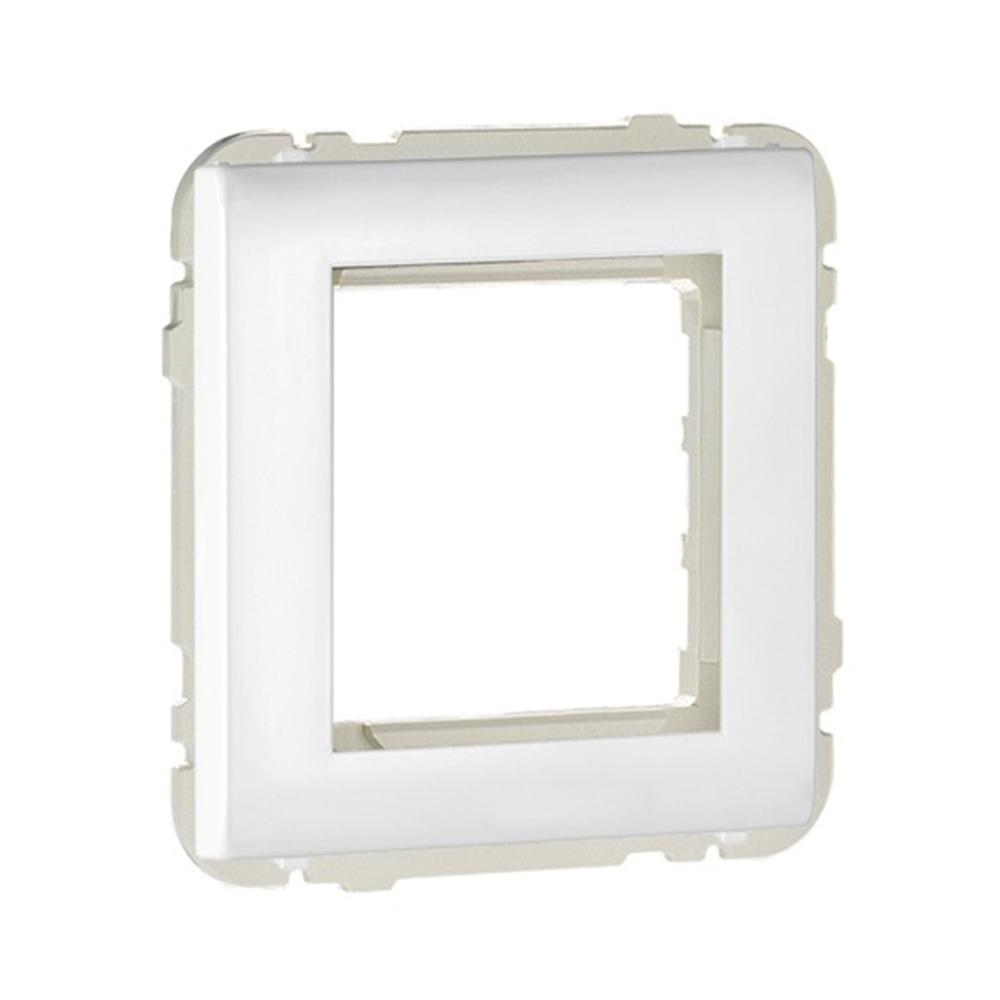Tapa central universal Q45 blanc
