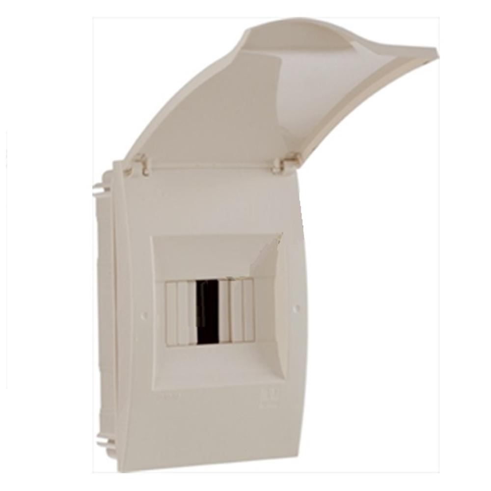 Caixa Protecció ICP (1-2 PIAs). 140x215x100x63mm IP40. Encastar.
