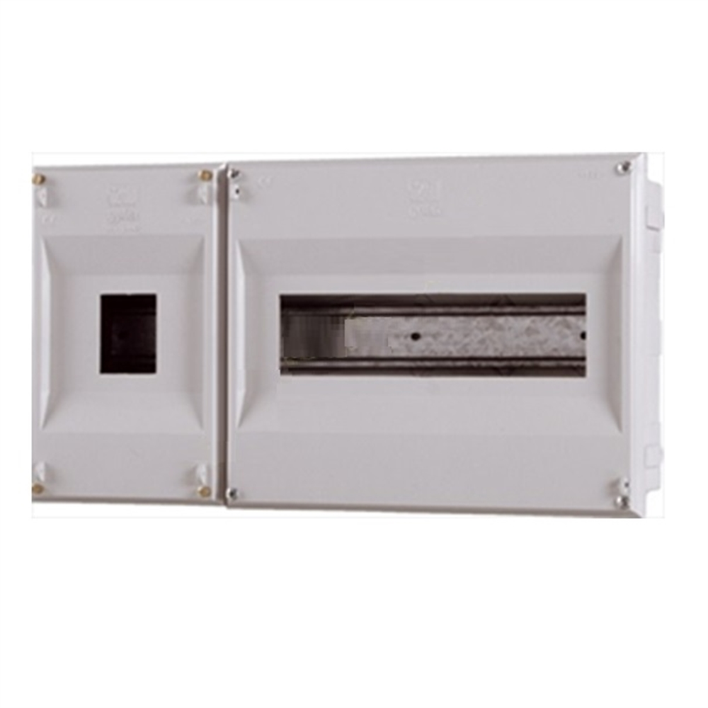 Caixa per ICP + 12 PIAs. 360x196x55mm. IP40. Encastar