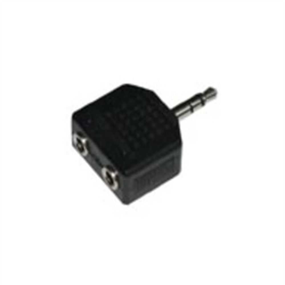 Adaptador M 3,5-2H 3,5 Estéreo