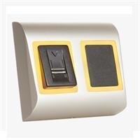 Lector biométrico+proximidad en red IP65