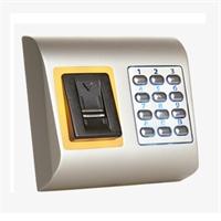 Lector biométrico + teclado en red IP65