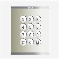 Kit teclat accés AUTA LLAVE Compact S1