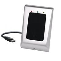 Lector de proximidad USB para grabación de tarjetas y llaveros desde PC de gestión