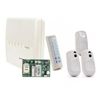 Kit central VR-G2 + teclado LED +1 PIR-CAM + 2 detectores PIR bidireccionales +GPRS