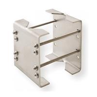 Abrazadera metálica para Detector exterior en poste
