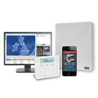 Kit central CR-G3 Plus amb GPRS 2G i Teclat Elegant+ prox.
