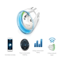 Enchufe inteligente Smart Home conexion F Power meter Pmáx 2500W