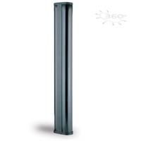 Columna PT de 2m/360º per a ubicació de barreres IR