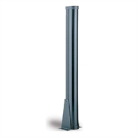 Columna MB de 2m/180º per a ubicació de barreres IR