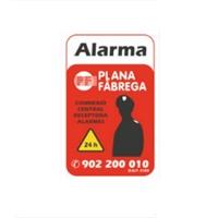 Placa alarma pequeña catalán