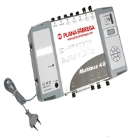 Amplificador programable de capçalera Multimax 4G.