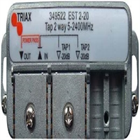 Derivador 2 salidas 20 dB de atenuación EST 2-20