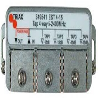 Derivador 4 salidas 15 dB de atenuación EST 4-15