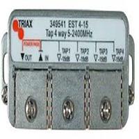 Derivador 4 sortides 25 dB d'atenuació EST 4-25