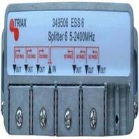 Derivador 6 sortides 16 dB d'atenuació EST 6-16