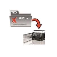 Genera 12 adreces IP per a senyals de vídeo d'entrada a la capçalera TDX.