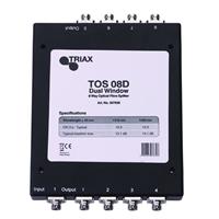 Distribuidor óptico pasivo 1E/8S TOS 08 D