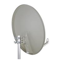 Antena parabólica alum.80cm embalaje individual TDA78