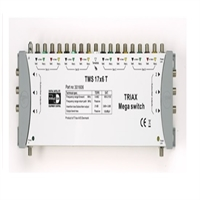 Multiswitch 17 entrades 16 SAT+ 1 Terr. 6 sortides TMS 17X6 T